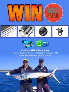 AFN Fishing & Outdoors – Win fishing equipment valued approx $1,000