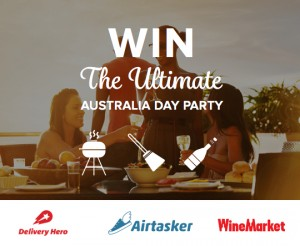 Airtasker – Win $1,500 worth of Airtasker, Delivery Hero and Winemarket vouchers for your Australian Day Party