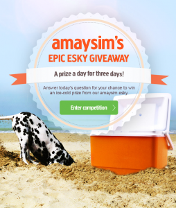 Amaysim – Win Epic Esky Giveaway