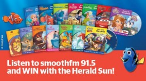 Herald Sun Disney Days – Listen to Smooth FM and Win 10 Magical prizes (gift cards, vouchers ) plus Disney Read to Me Storybooks and CDs