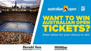 Herald Sun – Win free tickets to the Australian Open 2015 in Melbourne