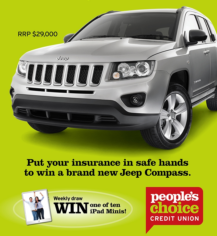 people s choice credit union insurance win a jeep compass car. Cars Review. Best American Auto & Cars Review