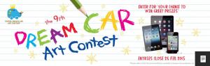 Toyota Dream Car Art Competition for Kids – Win an iPod touch, an iPad Mini or an iPad Air