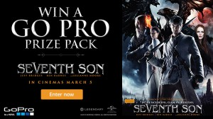 Channel Ten – Win a GoPro HD Hero4 Action Video Camera or double pass tickets to Seventh Son in 3D