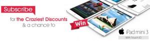 Crazy Sales – Win an iPad Mini