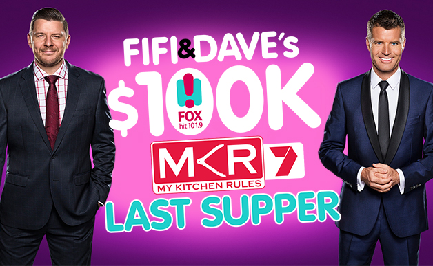 Fox FM Watch My Kitchen Rules On Channel 7 Win 100 000 With