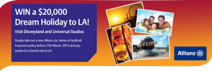 G&C Mutual Bank – Win a $20,000 Holiday to LA with Allianz Insurance