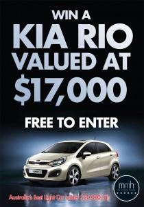 My Money House – Win a Kia Rio 1.4L (3 Door) Car Valued at $17,000