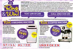 Take5 Magazine Issue 8 – Win a washing machine, a coffee machine