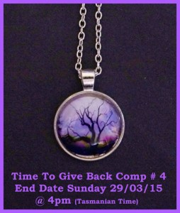 A Little Bit of Everything – Win a Purple Tree of Life Glass Cabochon Necklace