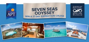 Australian National Maritime Museum – APT – Win a 17 Day Expedition Cruise from Manila to Kupang with The Seven Seas Odyssey