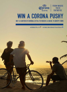 Corona Beer – Win a Pushy Bike (RRP $249)