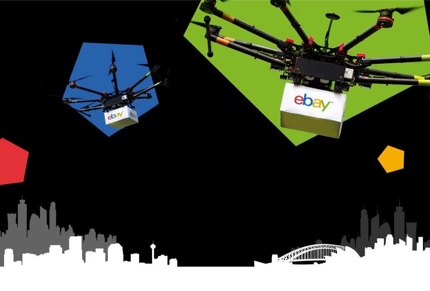 eBay – Drone a Friend – Nominated friend win iPhone 6, iPad Air 2, cameras, smartphones