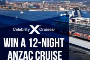 2GB – Win a 12 Night Anzac Cruise