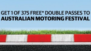 Herald Sun – Win 1 of 375 Free Double Pass tickets to Australian Motoring Festival 2015