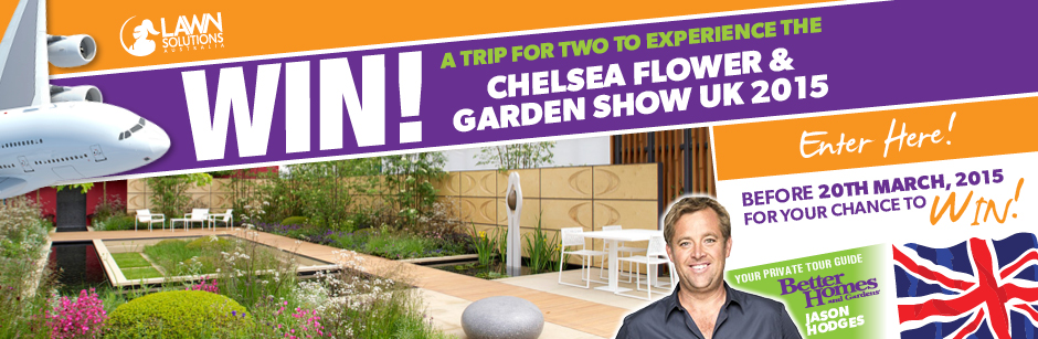 Lawn Solutions Win A Trip To London For Chelsea Flower Gar Australian Competitions