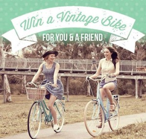 Reid Cycles – Win a Vintage bike for you and a friend valued $500 over