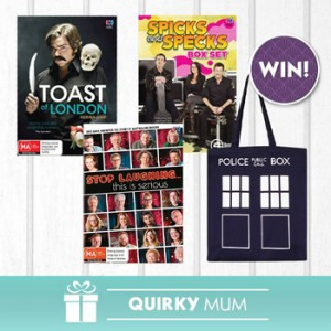 ABC Shop – Win 1 of 3 prize packs for the mum valued at $129 over