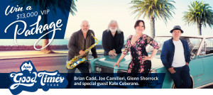 Apia Insurance – Win a $13,000 VIP Package at the Apia Good Times Tour