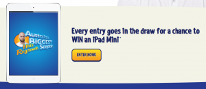 Australia's Biggest Hair Regrowth Sceptic – Win $10,000 Prize package or an iPad Mini