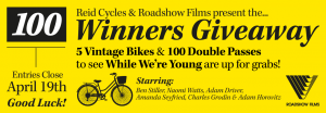 Reid Cycles – Win 1 of 5 Vintage Bikes and 1 of 100 Double Passes to see While Were Young