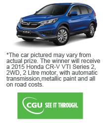 BankVic – Win a 2015 Honda CRV VTI Series 2 Car