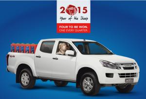 Bayer – Year of the Sheep – Win an Isuzu D-Max UTE Car