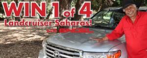 Engel Australia – Win 1 of 4 Landcruiser Sahara cars (purchase Engel fridge, freezer)