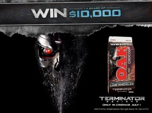 OAK Milk – Win a trip to Los Angeles with Terminator film and a share of $10,000 instant win prizes