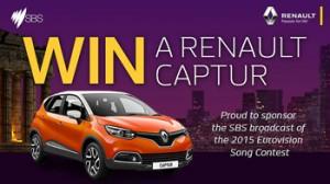 SBS – Win a Renault Captur Dynamique valued at $32,990