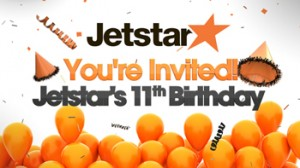 Sunrise – Win 1 of 8 $500 Jetstar Flight Vouchers