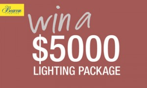 Sunrise_Channel 7 – Win a $5,000 Beacon Lighting voucher daily for 5 days