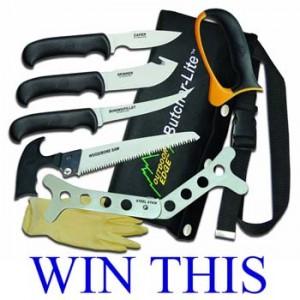 4wd TV – Win a knife set thanks to Gun Emporium