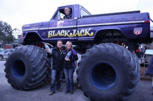 4wd TV – Win 1 of 6 family tickets valued at $60 each to ride in Aussie BlackJack Monster Truck at Explore Australia Expo Melbourne