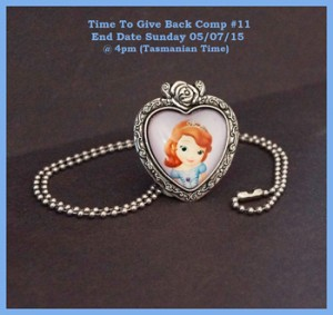 A Little Bit of Everything – Win a Princess Sophia Glass Cabochon Cameo Necklace