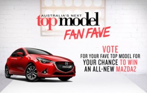 Fox 8 / Australia's Next Top Model Fan Fave – Vote to Win a Soul Red Metallic All-New Mazda2 Genki Auto vehicle valued at $25,221