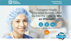 Health Insurance Comparison – Compare to Win an iPhones6 valued at $869