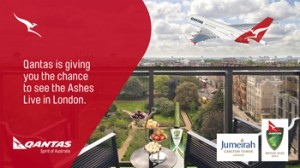 9jumpin/Today/Channel 9 –  Win a trip to watch the Investec Ashes series live in London