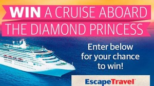News Corp – Escape Travel – Win a Cruise aboard the Diamond Princess