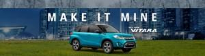 Suzuki – Win a Suzuki Vitara RX4 vehicle Automatic Transmission metallic valued at RRP $32,990