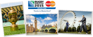 28 Degrees Card – Win a Trip for 2 to Rugby World Cup 2015 in London thanks to MasterCard