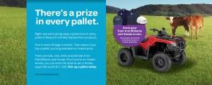 Maxum Animal – Win a Honda Quad Bike and instant win prizes