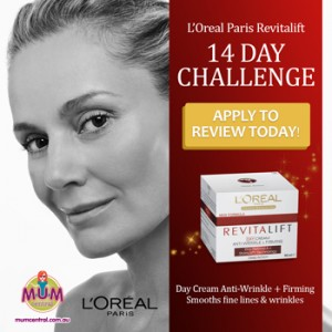 Mum Central-L'Oreal Paris – Review to Win a years supply of L'Oreal Paris products
