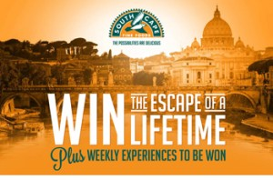 Tenplay-Network Ten-The Bachelor – WIN a major prize of the Escape of a lifetime to Rome for 2 valued at up to $15,000 OR 1 of 10 minor prizes of $500 Red Balloon vouchers