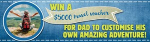 ABC Shop – Win a $5,000 Intrepid Travel Voucher for Dad