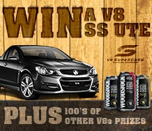 Cellarbrations – Win a Holden V8 Ute PLUS more minor prizes