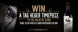Bottlemart – Win a Tag Heuer Timepiece valued at $7,000 OR $18,000 worth of Shaver Shop vouchers