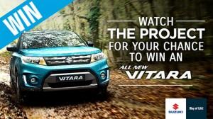 Channel Ten – The Project – Win a new Suzuki Vitara Car