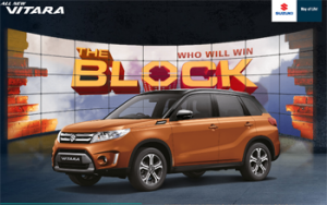 9jumpin-The Block – Win 1 of 5 VIP trips for 2 to The Block Grand Finale OR a major prize of an all-new Suzuki Vitara RT-X valued at $32,990