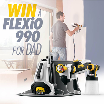 wagner australia win a wagner flexio 995 direct feed paint australian competitions. Black Bedroom Furniture Sets. Home Design Ideas